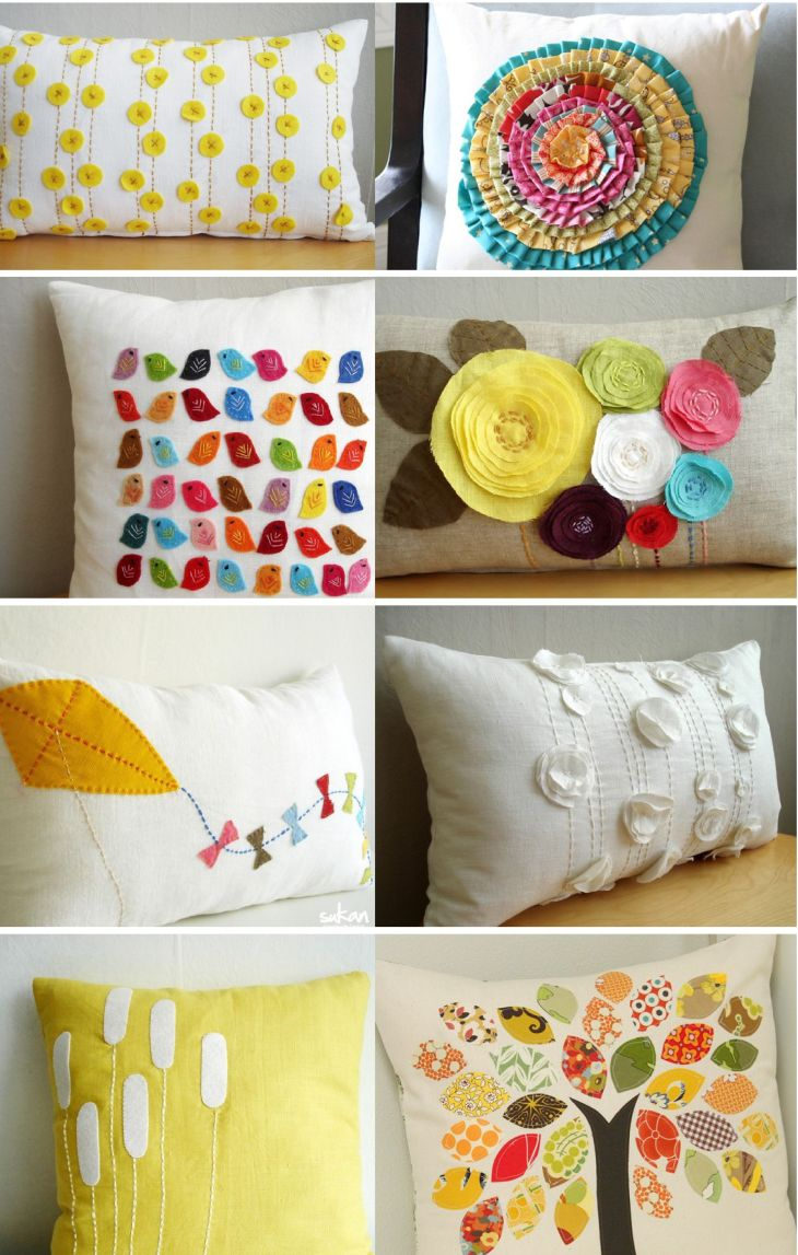 DIY pillows create Pinterest Pillows Craft and Sewing projects