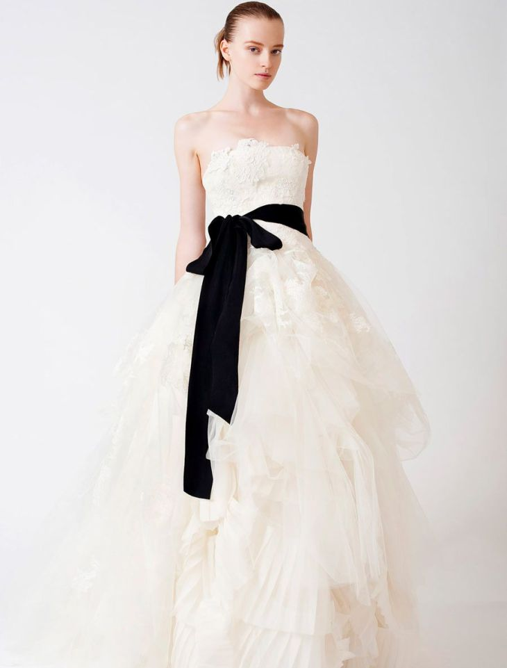Vera Wang Luxe Eliza Couture Bridal Gown  something wedding