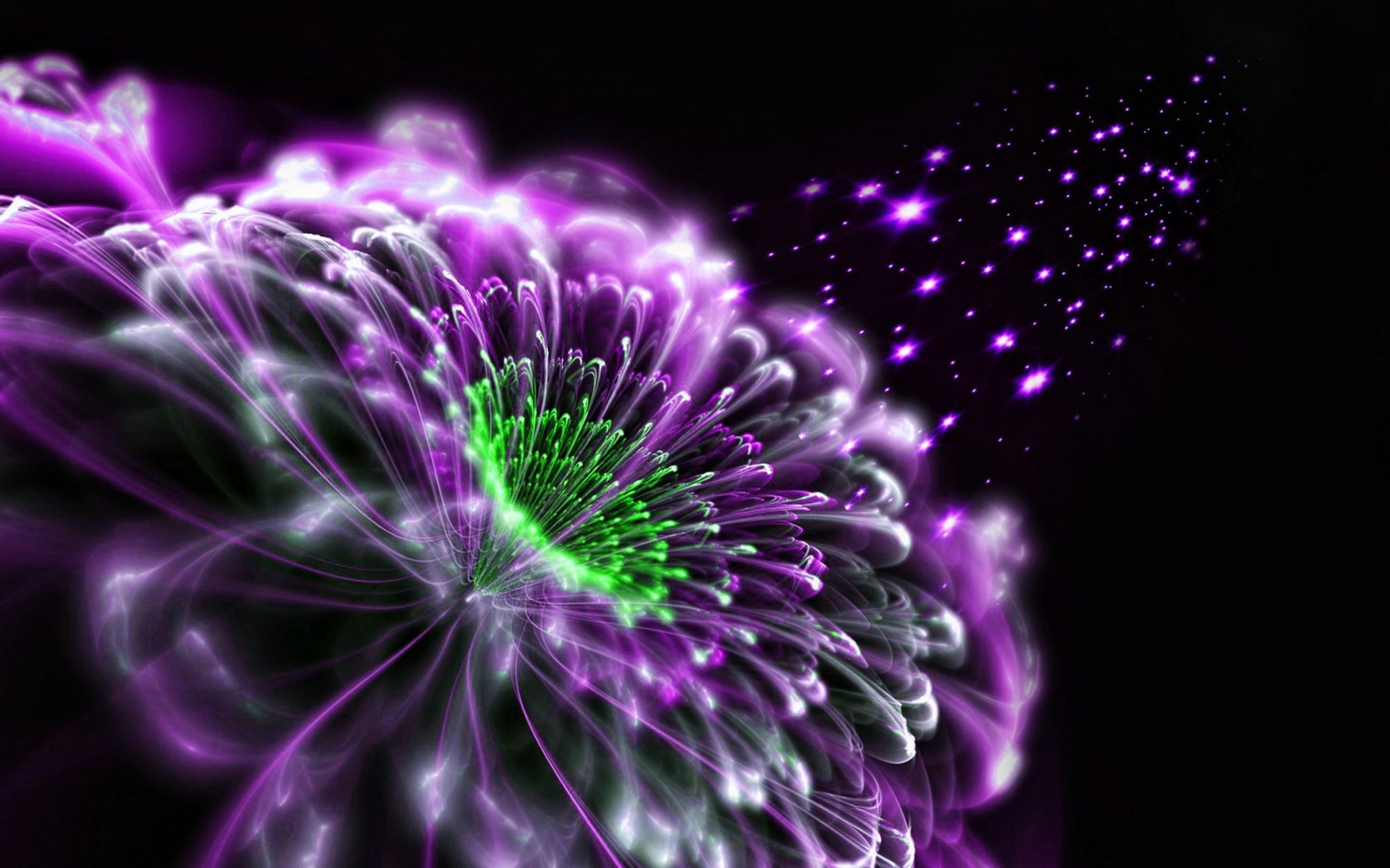 abstract purple flower 3d wallpapers and hd desktop wallpapers