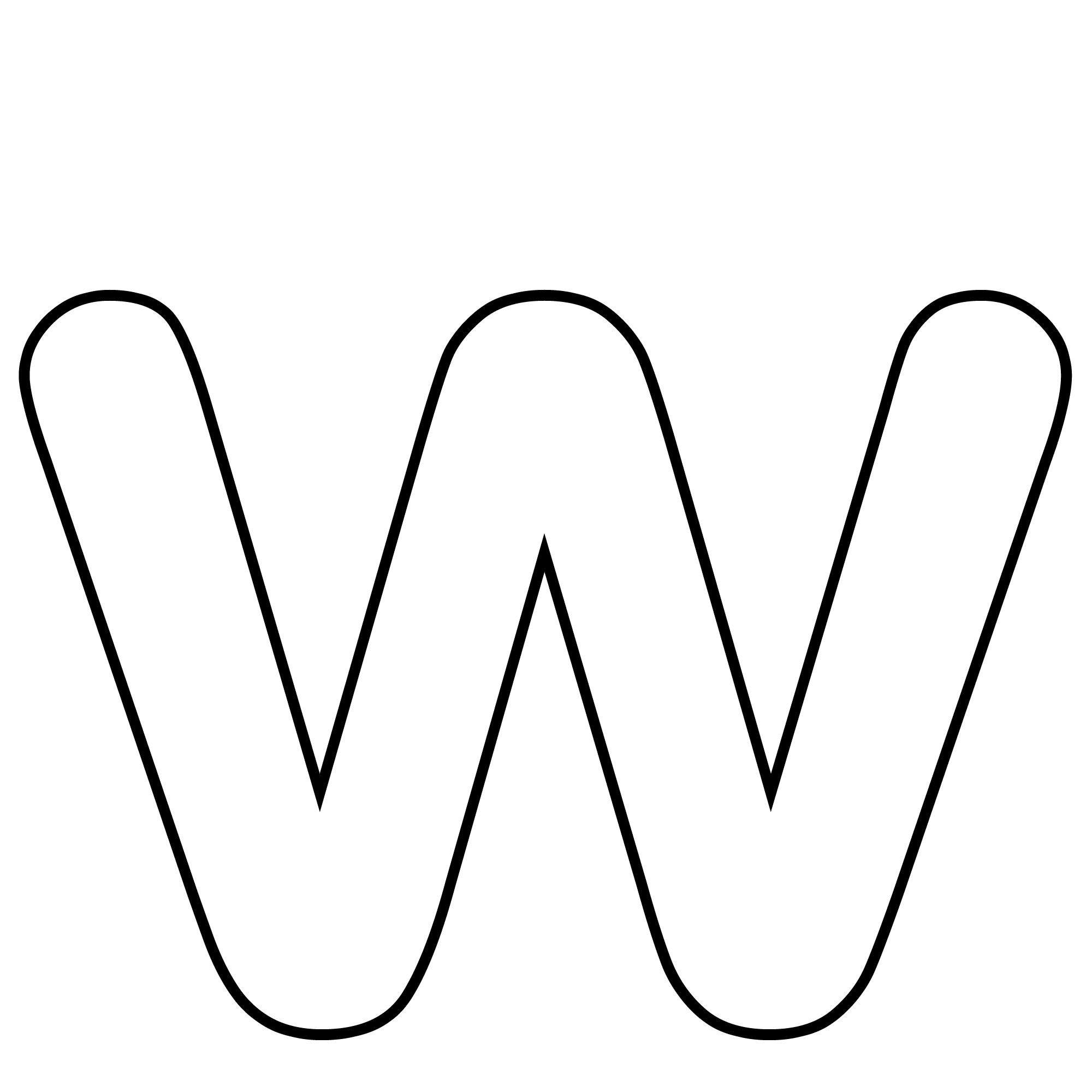Free Alphabet Letter W Activities