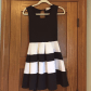 Black and white dresses for wedding guests  Black u white skater dress  Formalu Wedding guest dresses and