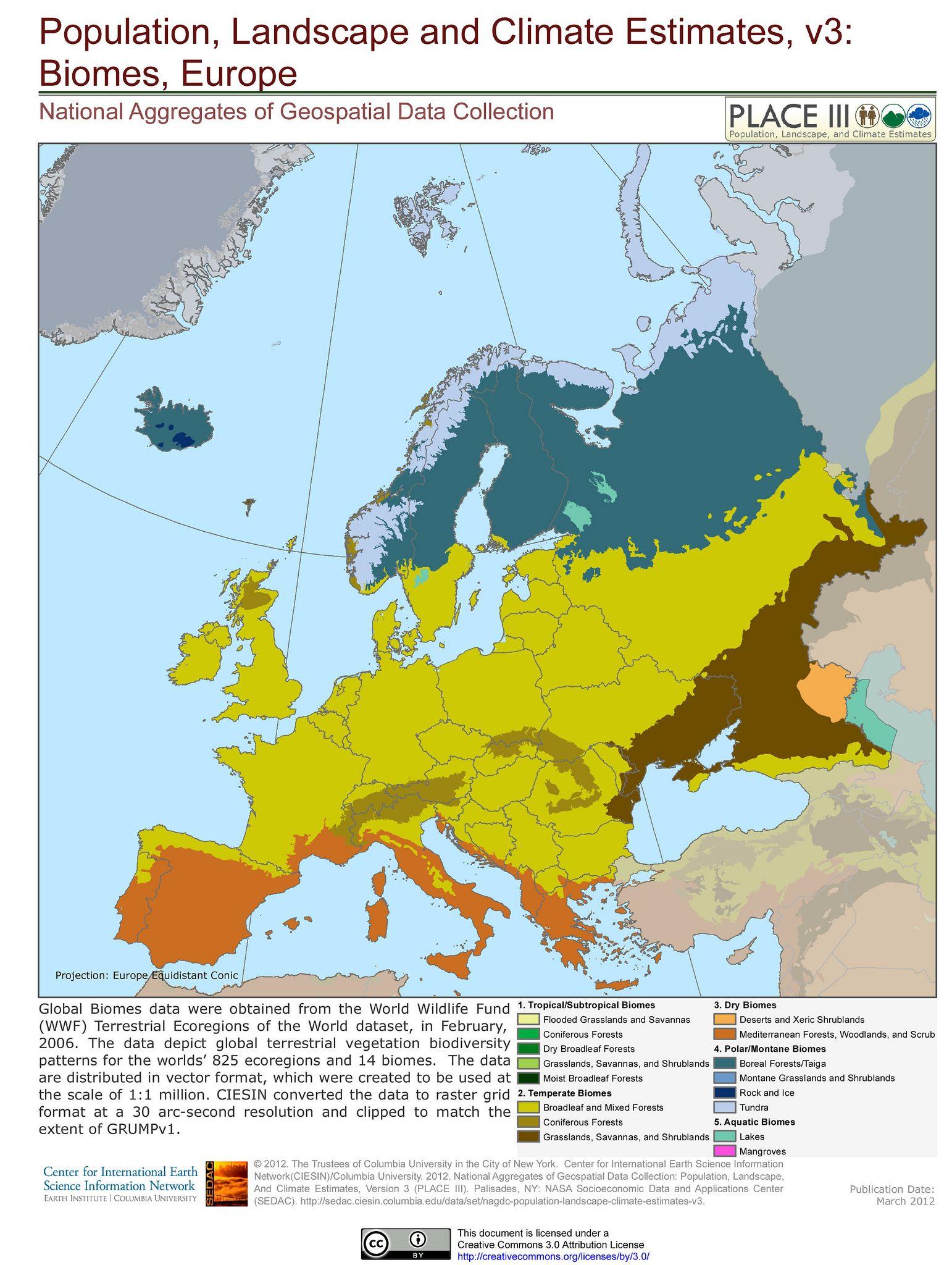 Biomes Europe
