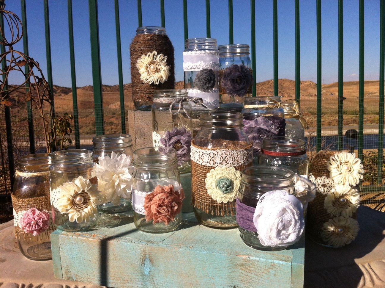 Best 25+ Country Table Centerpieces Ideas On Pinterest