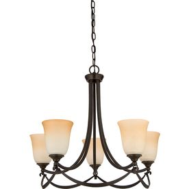 Allen Roth Winnsboro Oil Rubbed Bronze Standard Chandelier Lowes 149 On