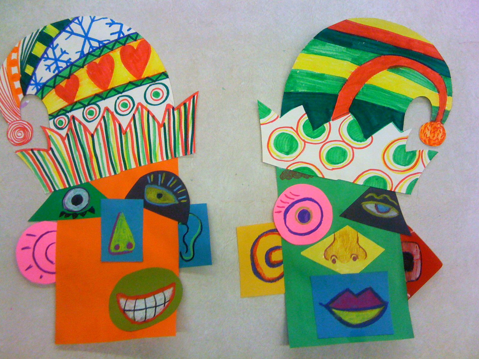 Picasso Elf Portraits
