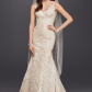 Fancy new style oleg cassini lace mermaid wedding dress cwg