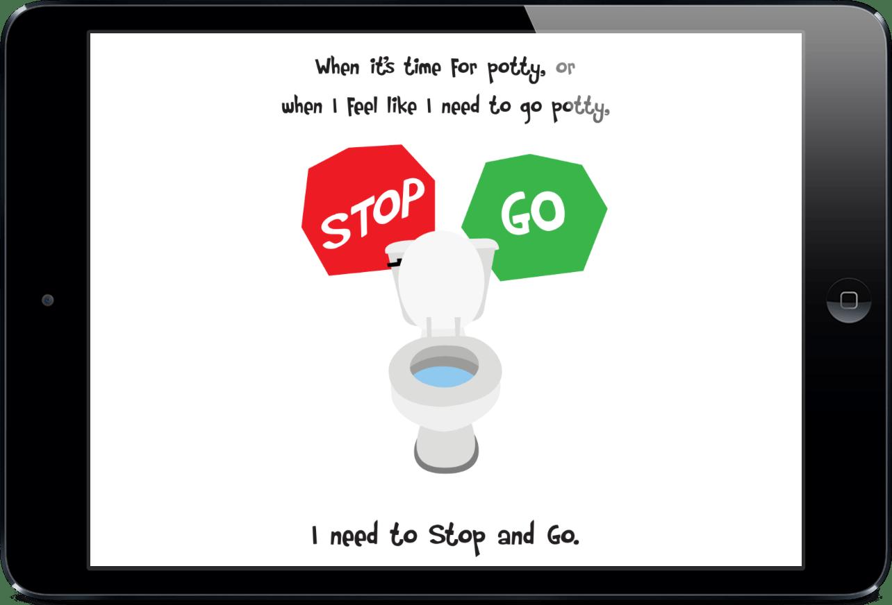 Potty Training Social Story App