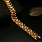 New gold plated stainless steel menus bracelet stainless steel