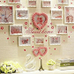 Heart shaped wall décor is trendy adorable and charming you can