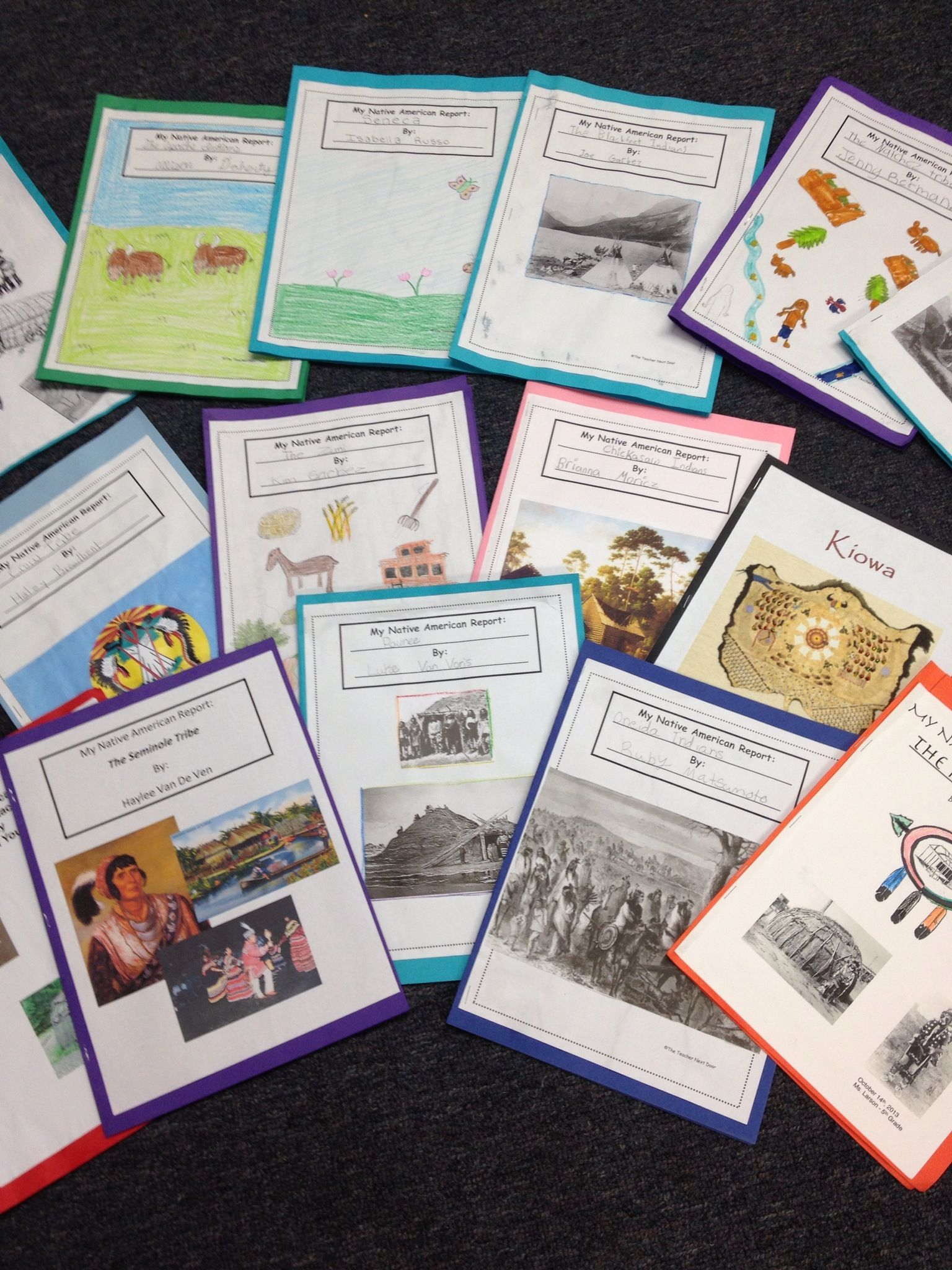 Here Are Some Of The Finished Native American Research