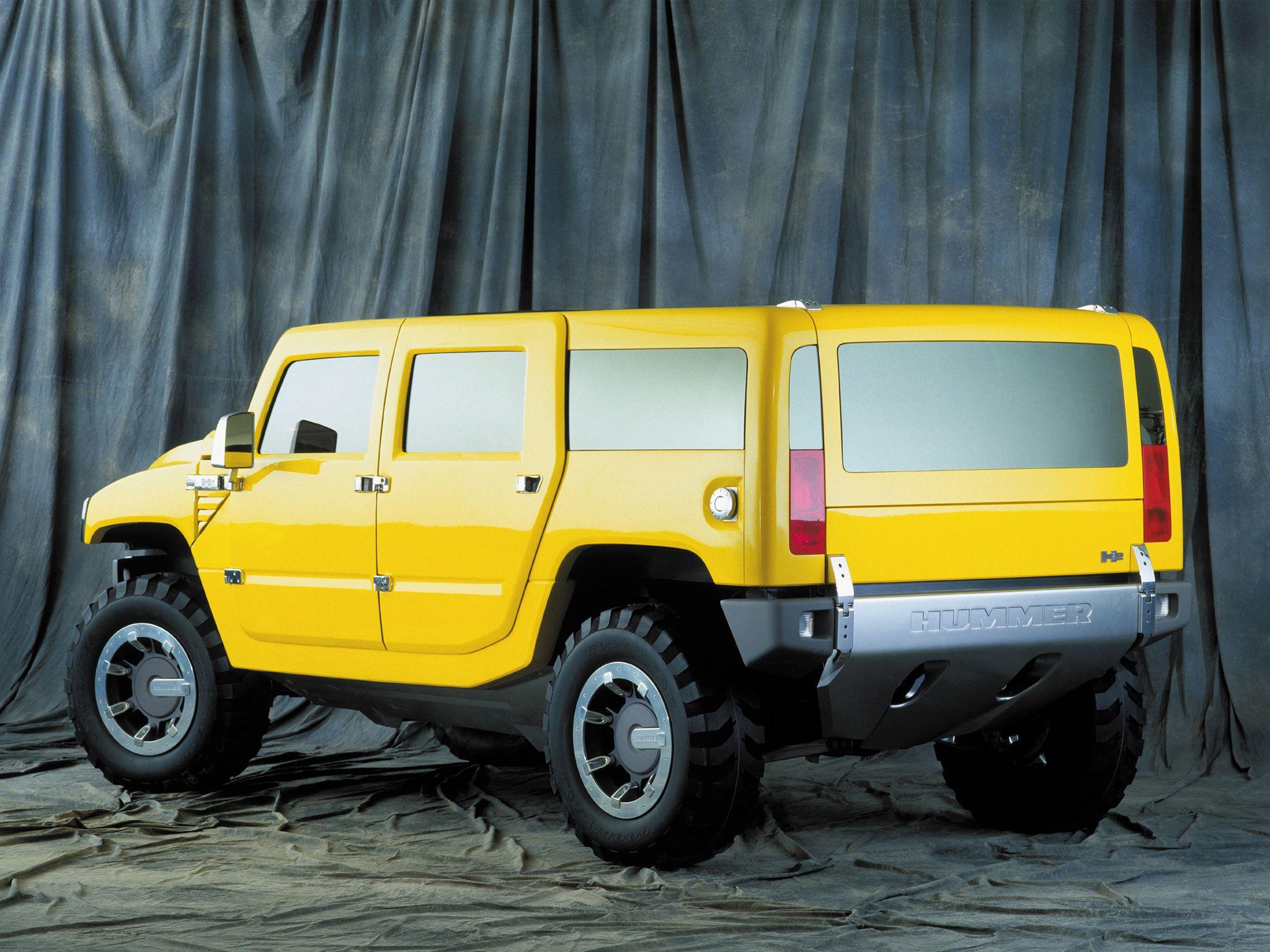 Hummer H2 SUV Concept 2000 Cars Detroit 2000