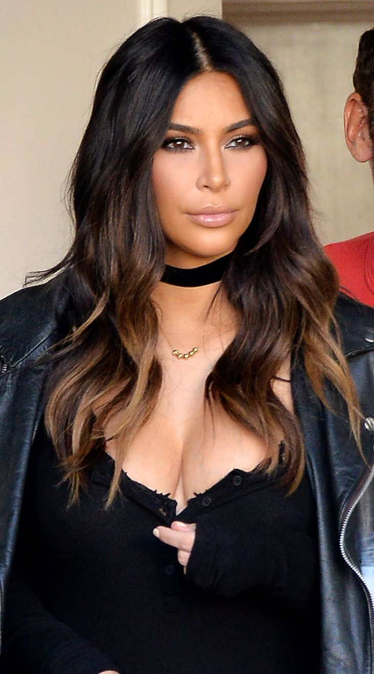 Why Kim Kardashian Really Got Ombre Hair Ombre hair Ombre