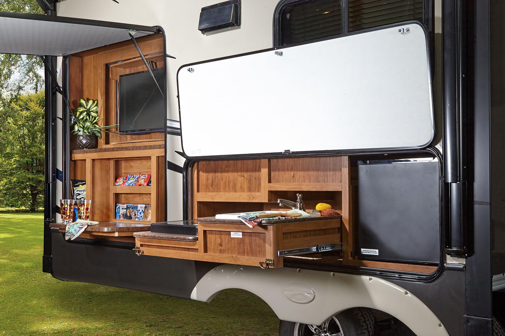 sunset outdoor kitchen camping pinterest on outdoor kitchen on wheels id=53302