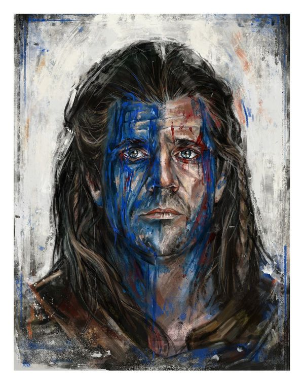 William Wallace Braveheart on Behance Movie Posters