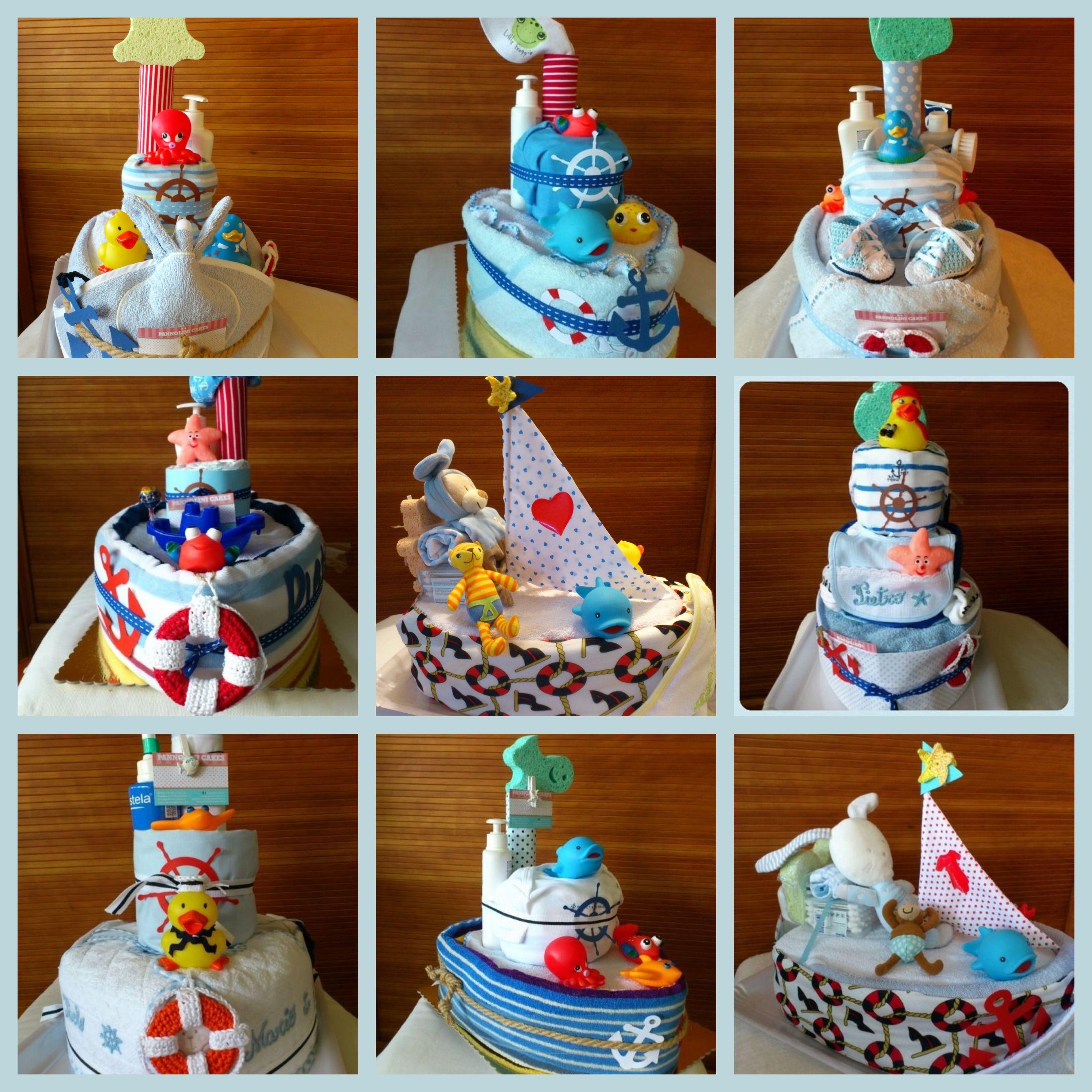 Boat Diaper Cakes