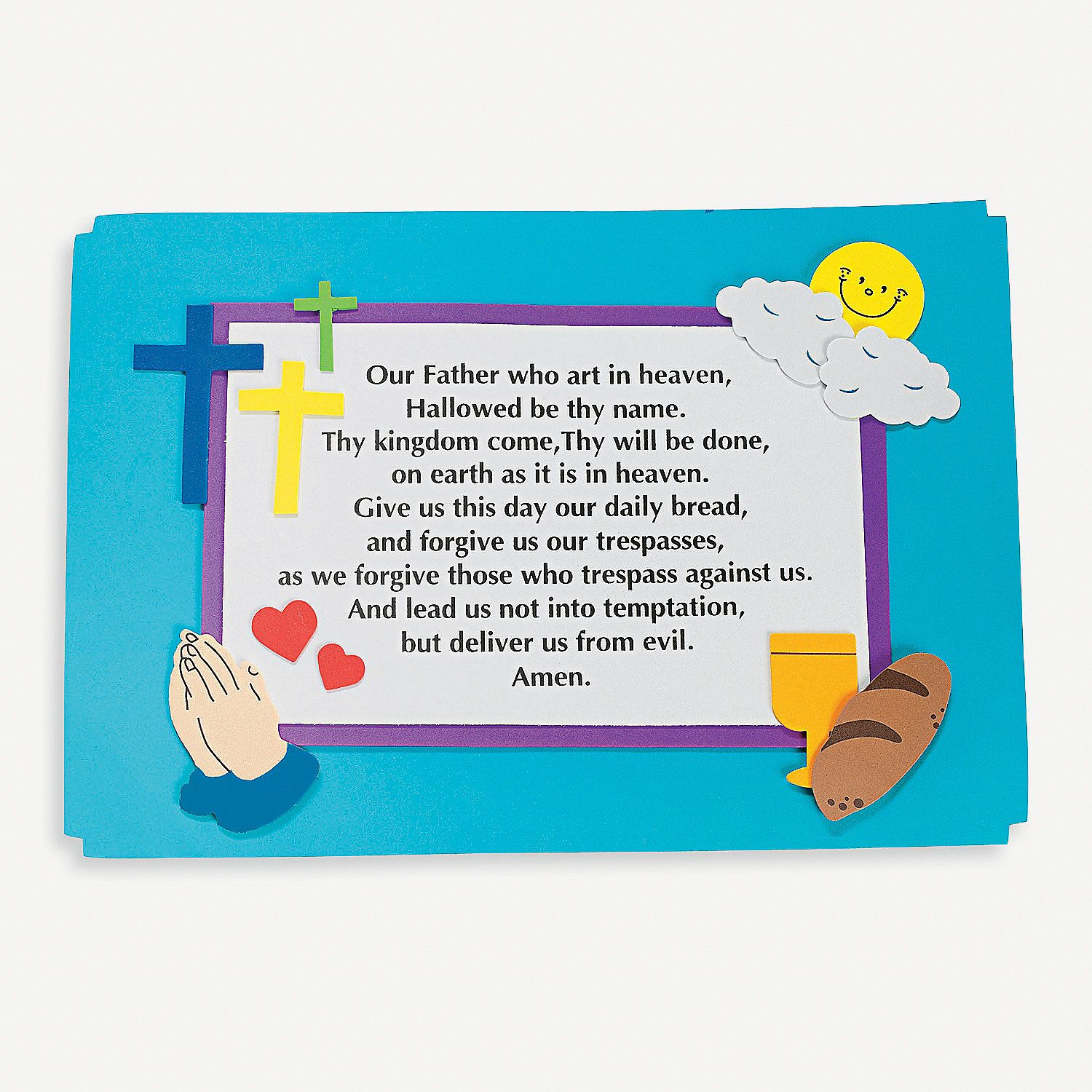 The Lords Prayer Place Mat Craft Kit