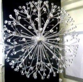 Stunning Crystal Sputnik Chandelier Uk Manufacturer