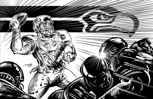 nfl seattle seahawks coloring pages  seattle seahawks