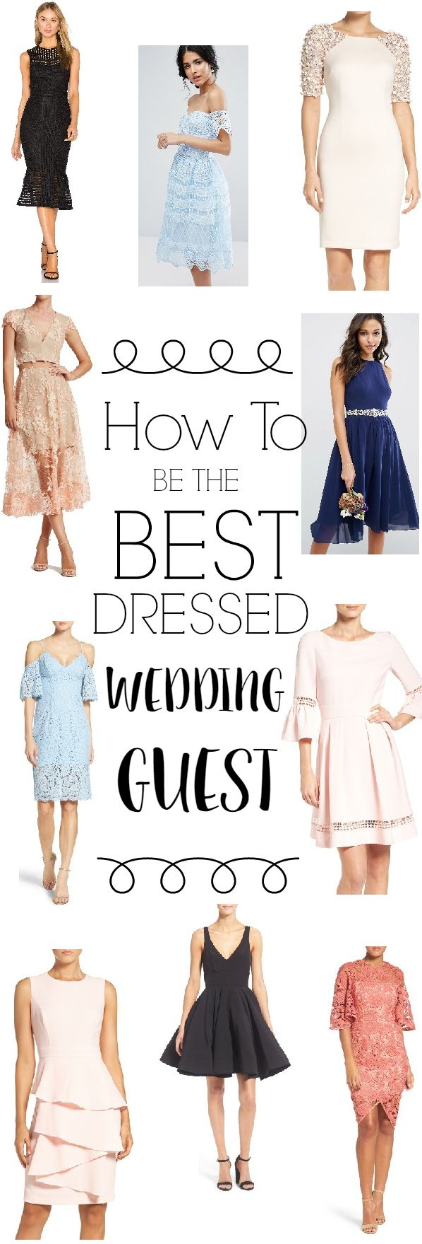 Best Dressed Wedding Guest Tips Dous And Donuts of Dressing for a