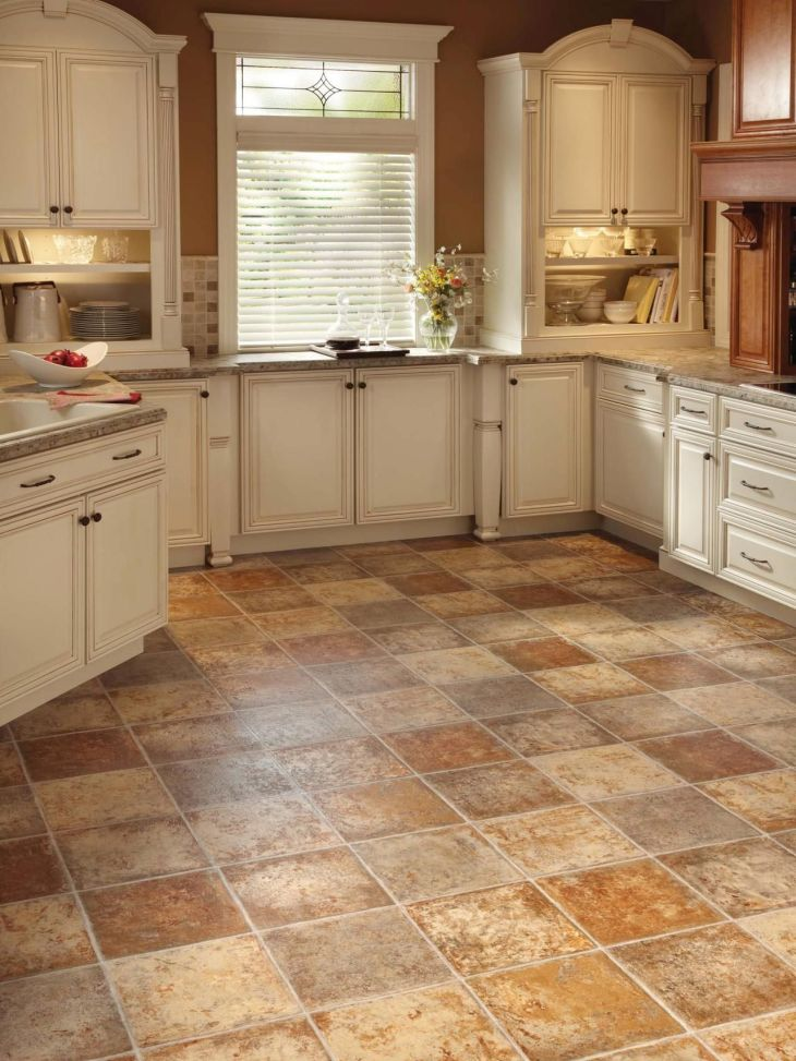 Image result for rubber flooring with stone design and kitchen