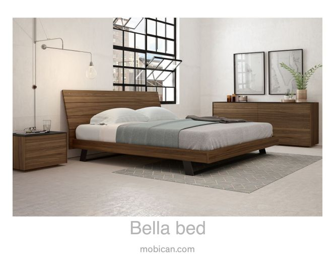 Click Here To See Mobican S Bella Bed It Is Accompanied By Our Avita Double Dresser And Night Table Cliquez Ici Pour Voir Le Lit De Il Est