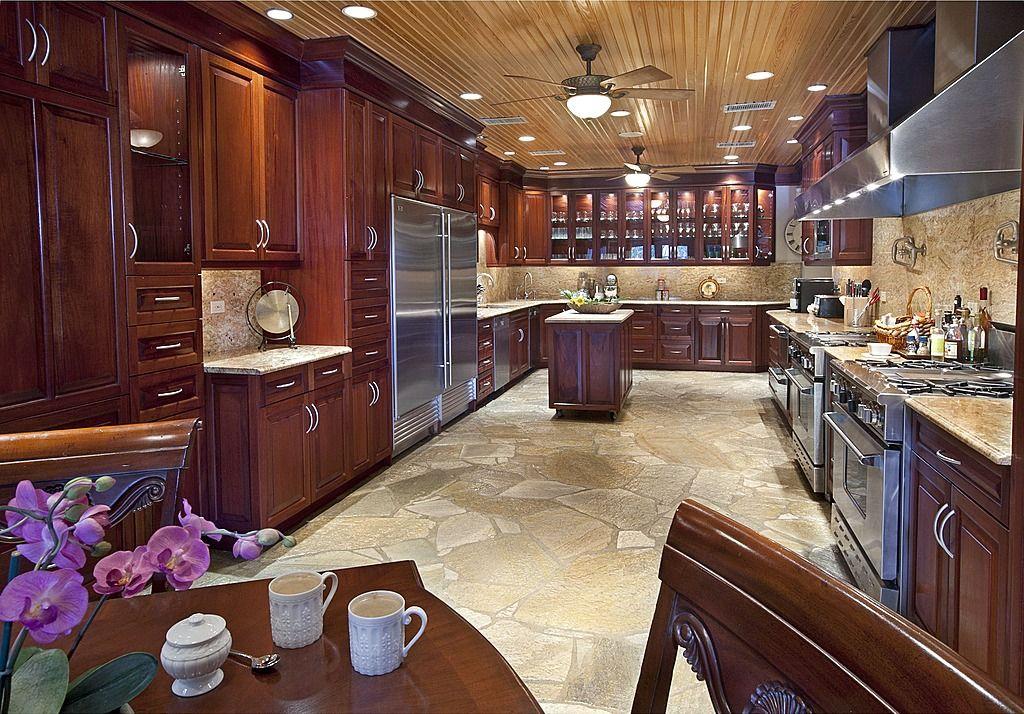 501 Custom Kitchen Ideas for 2018 (Pictures) | Dark wood ... on Maple Kitchen Cabinets With Dark Wood Floors Dark Countertops  id=14307