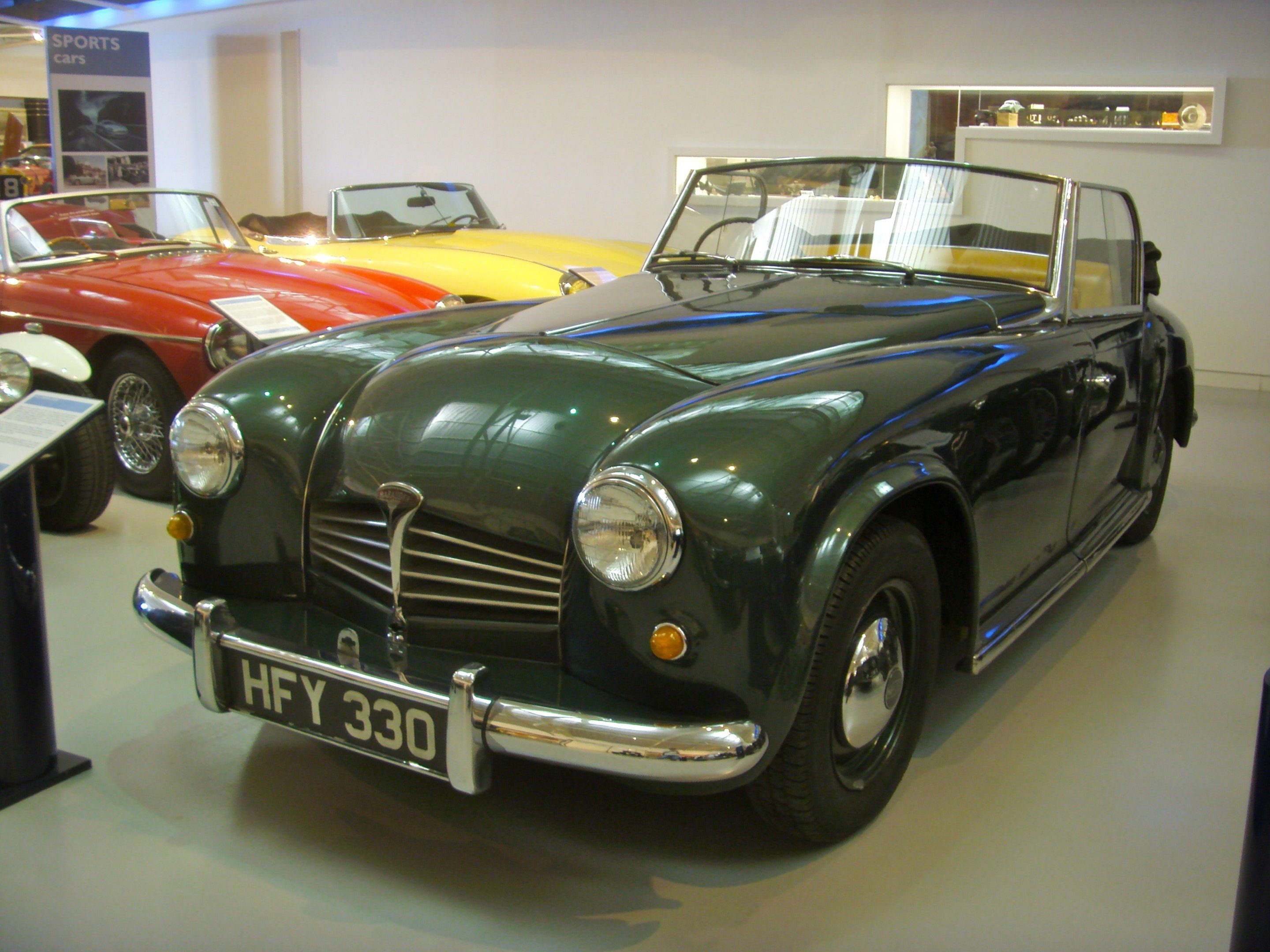 1951 Marauder Tourer Wilkes and Mackie two Rover engineers built