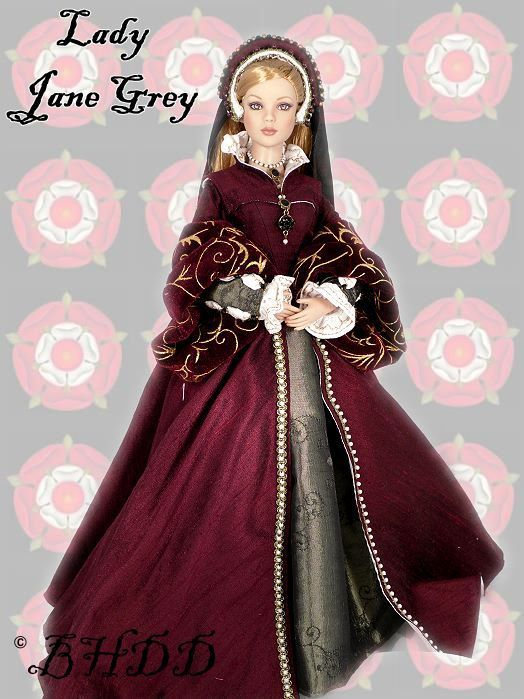 "Black Hills Doll Designs - Lady Jane Grey - ""the Nine Days ..."