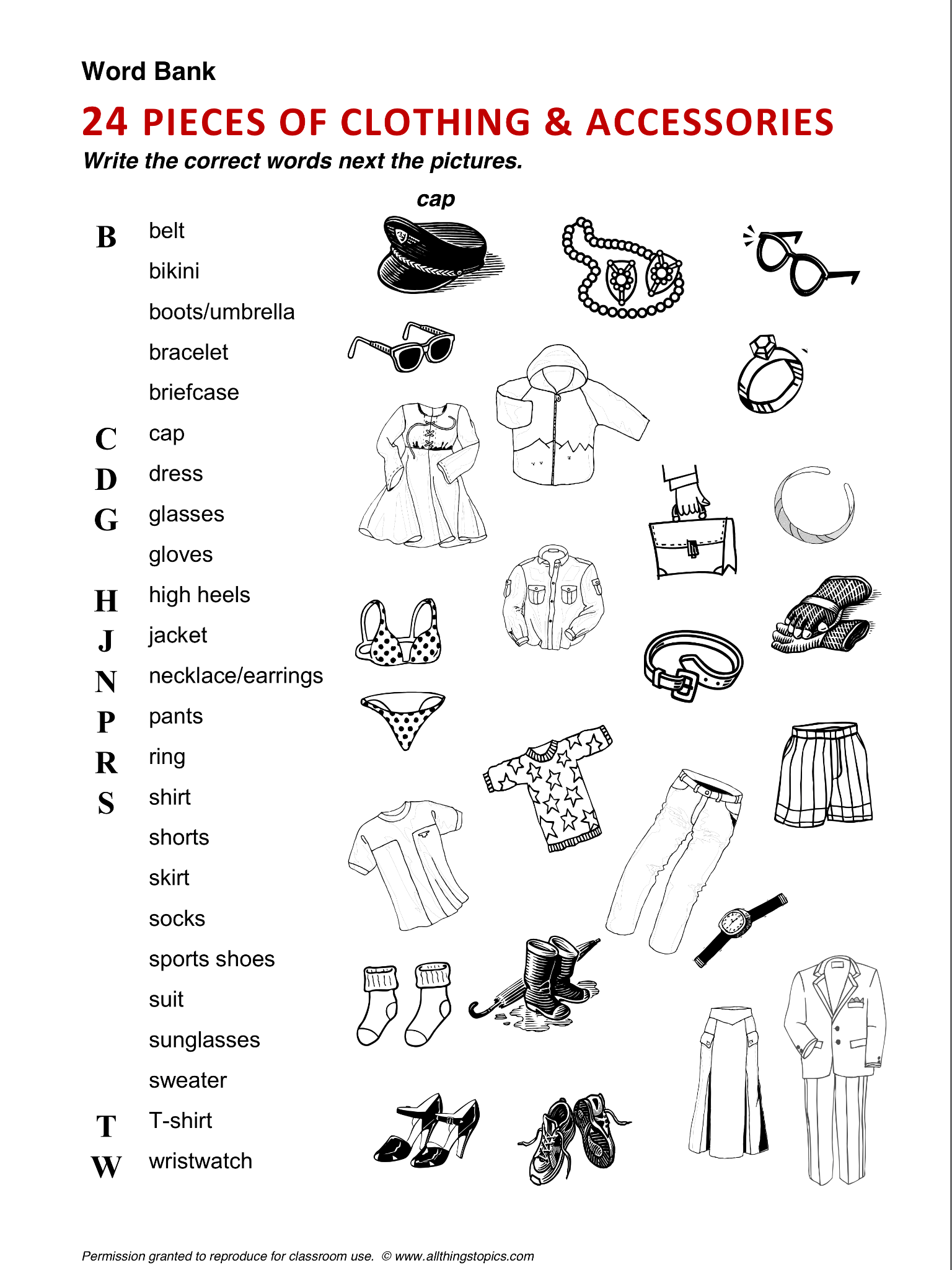 Clothing And Fashion Clothes Vocabulary Esl English