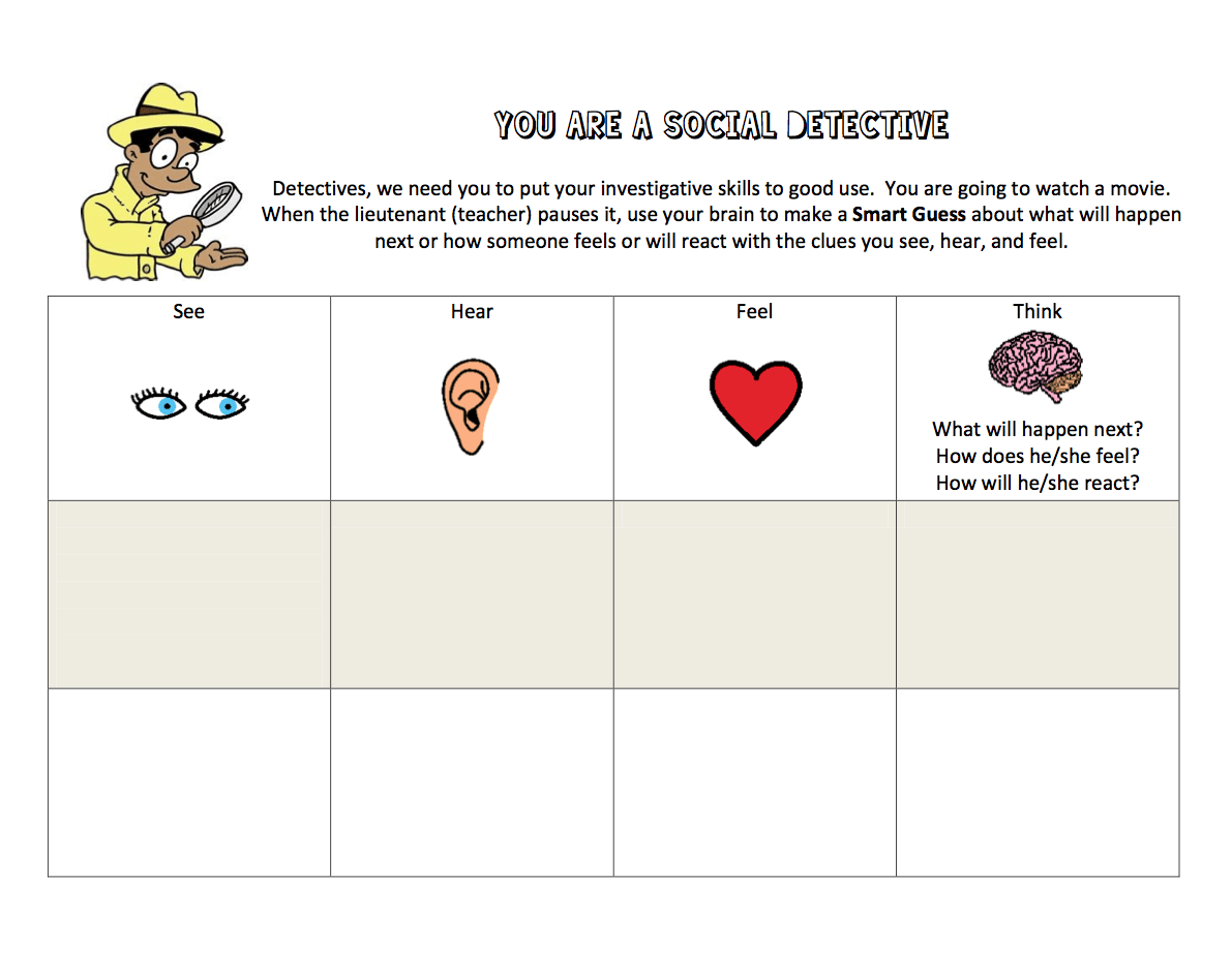 Free Social Thinking Download Includes Activities For