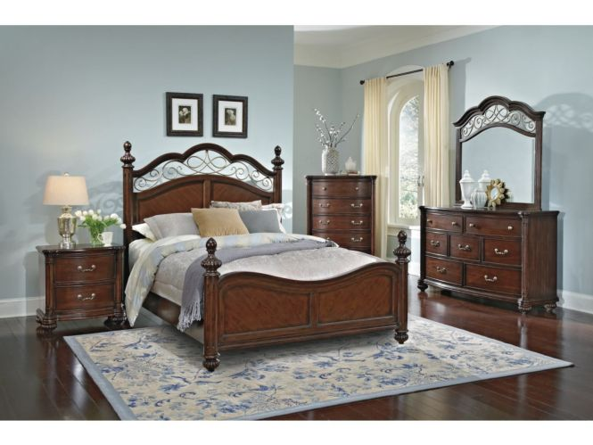 If The Bedroom Set Was My Style Derbyshire Cherry Value City Furniture