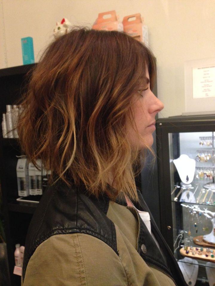 Andrea miller LeFevre hair The lab a salon Balayage Ombré San