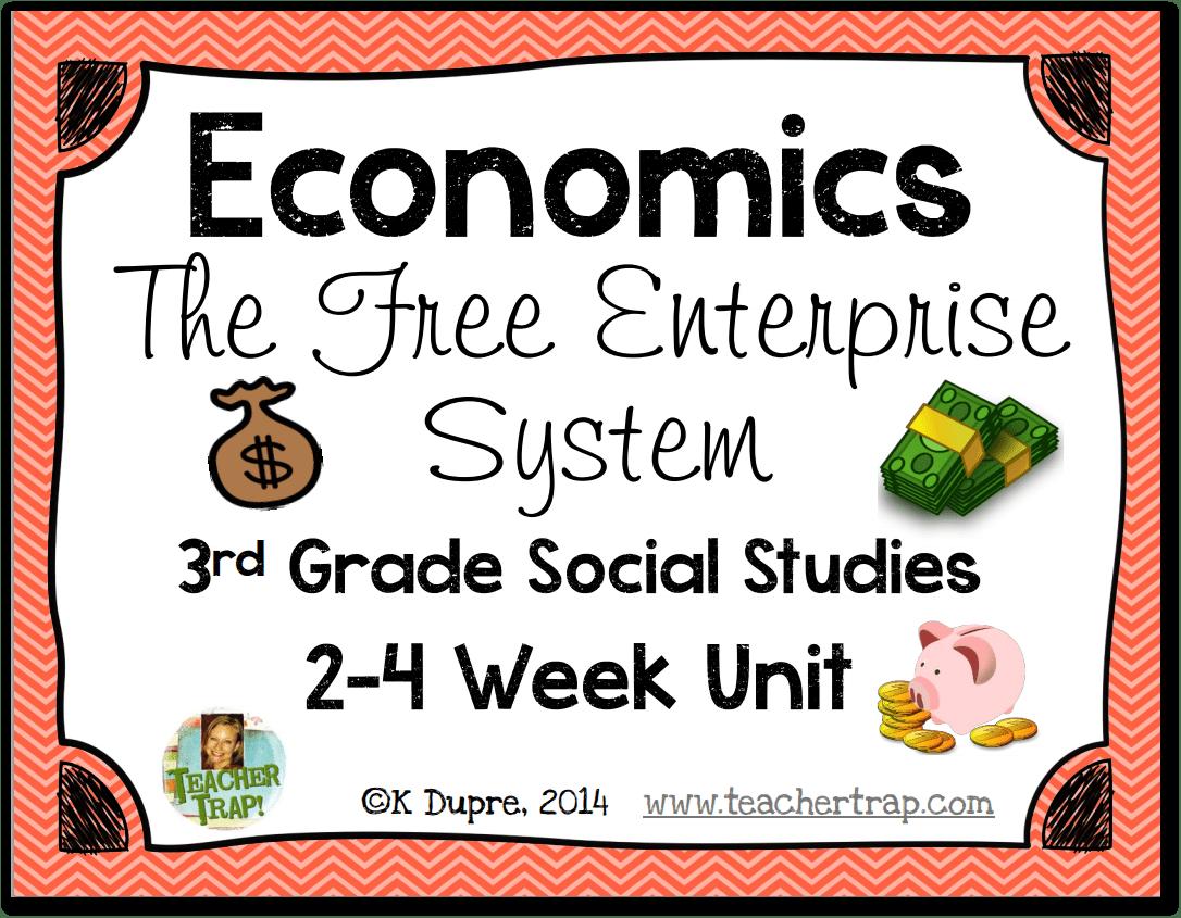 Free Enterprise System Aligns To 3rd Grade Teks