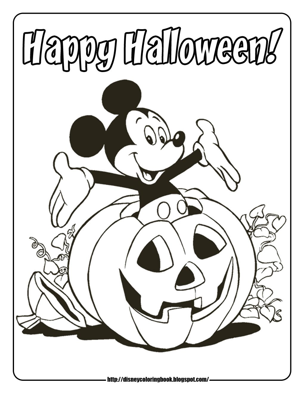 Disney Coloring Pages And Sheets For Kids Mickey And Friends