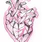 Geometric heart tattoo buscar con google u pinteresu
