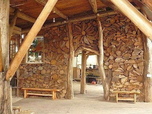 cordwood construction alt housing building types on types of walls in homes id=77715