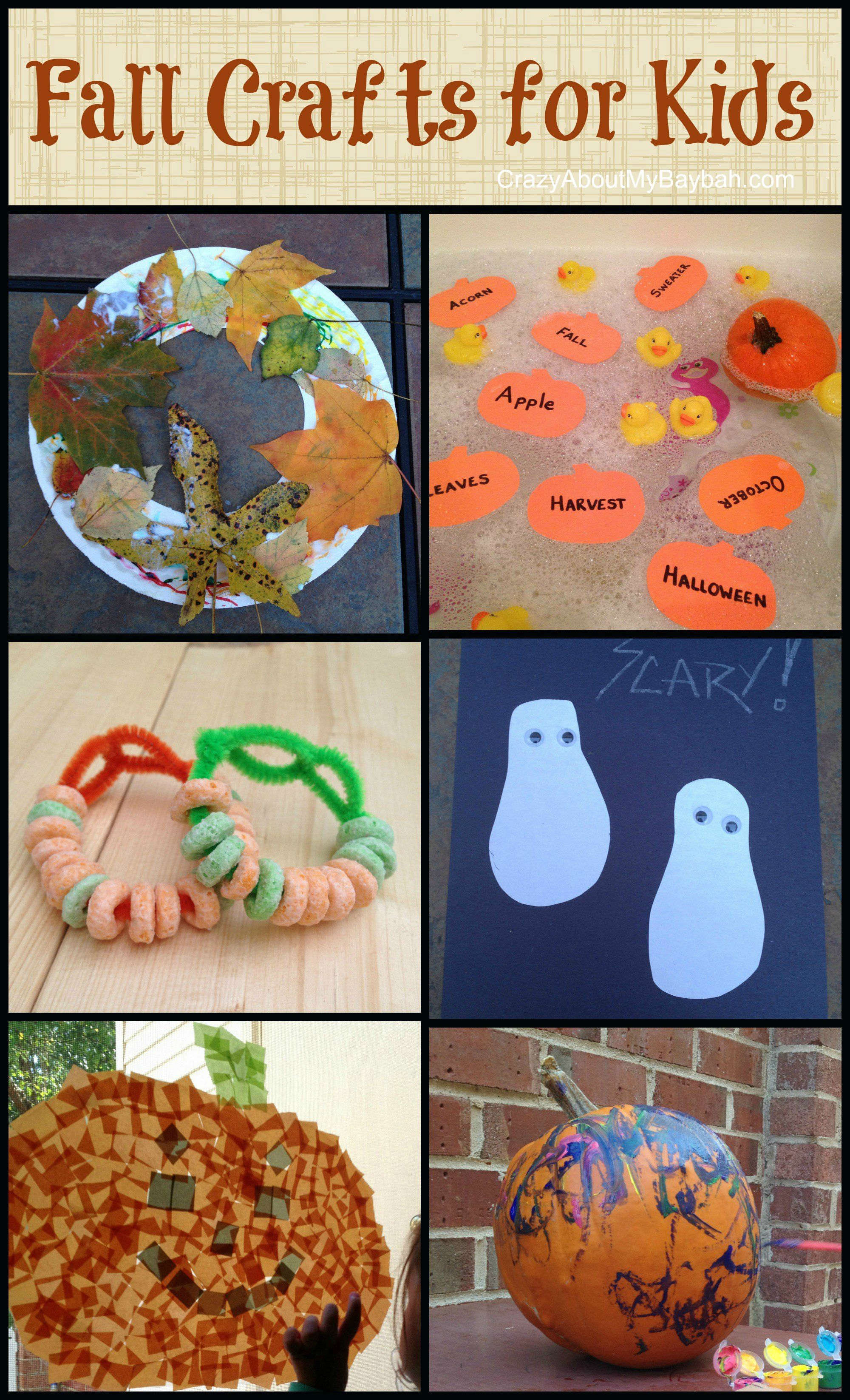 Easy Fall Crafts For Kids Toddler Preschool Homeschool