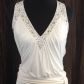 Bcbg long white dress white formal dress by bcbg this size small is