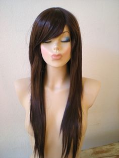 long hair with side bangs hair styles colors pinterest side bangs bangs and hair style