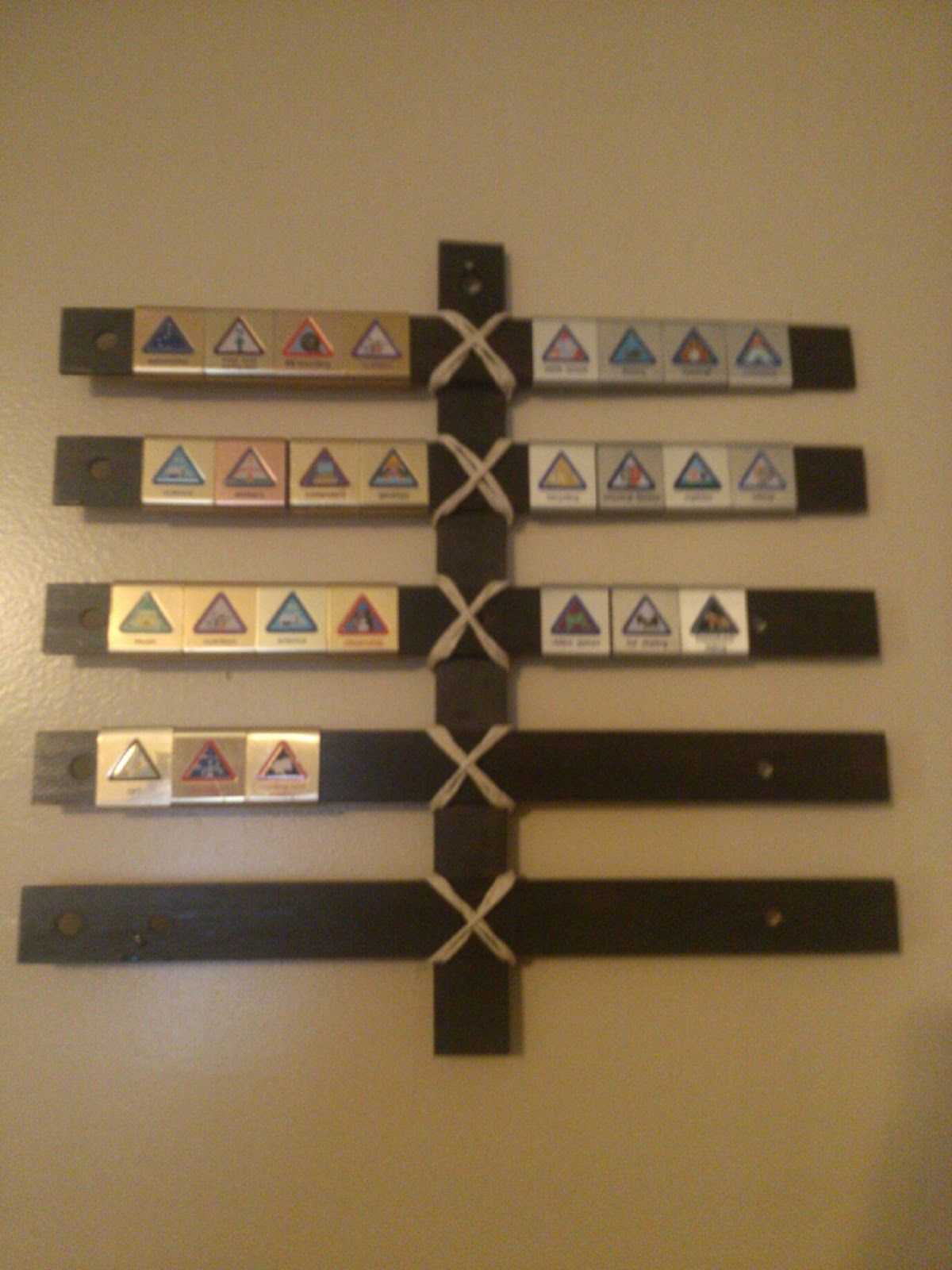 Make A Cub Scout Belt Loop Display For 1 50