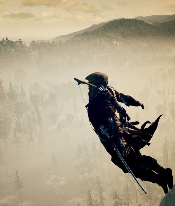 Leap of Faith. Connor Kenway. Assassin's Creed III ...