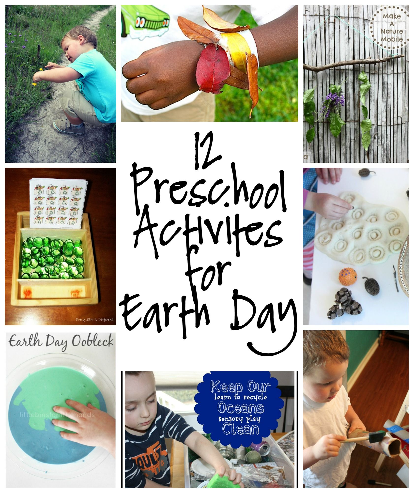 12 Preschool Activities For Earth Day All About The Earth