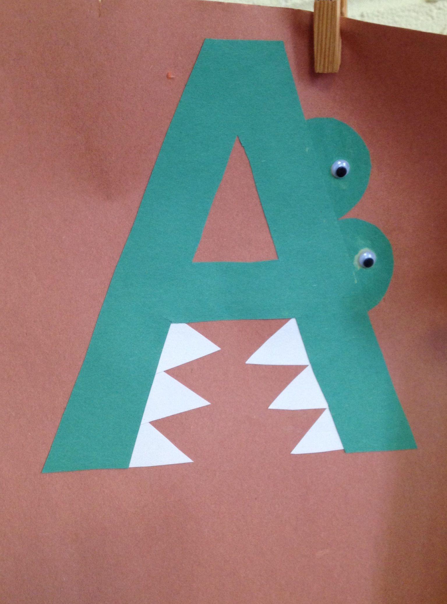 Preschool Letter A Craft