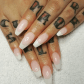 French manicure double team dynamicpunch fantastic u strong