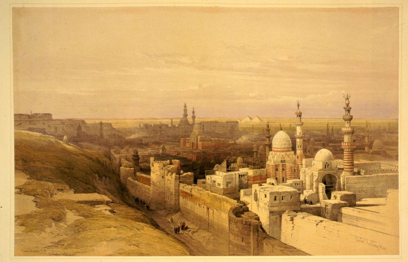 File Cairo East View David Roberts