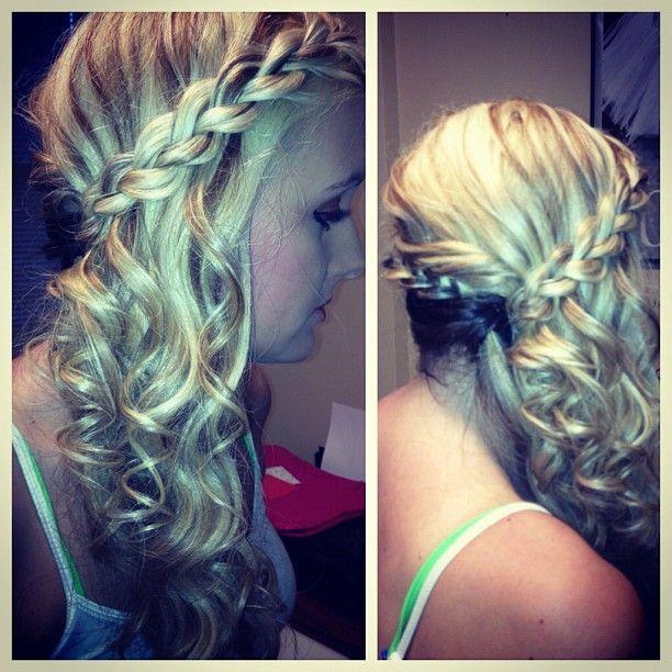 Best 25 Semi Formal Hair Ideas On Pinterest DIY Wedding