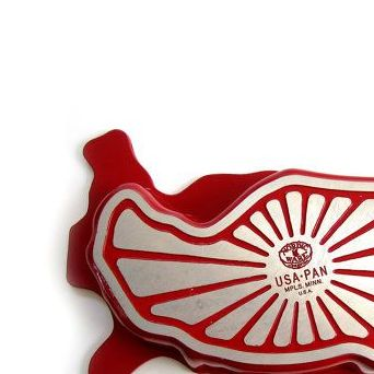 HD Decor Images » Vintage Nordic Ware USA Bundt Pan United States Map Shape Patriotic     Vintage Nordic Ware USA Bundt Pan United States Map Shape Patriotic  Memorial Day July 4th on