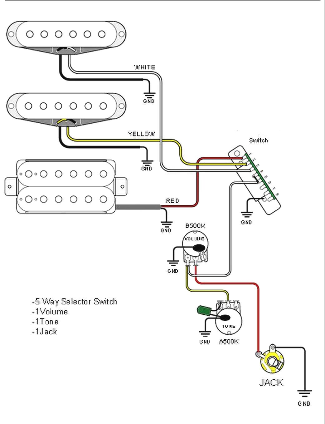 Cort Electric Guitar Wiring