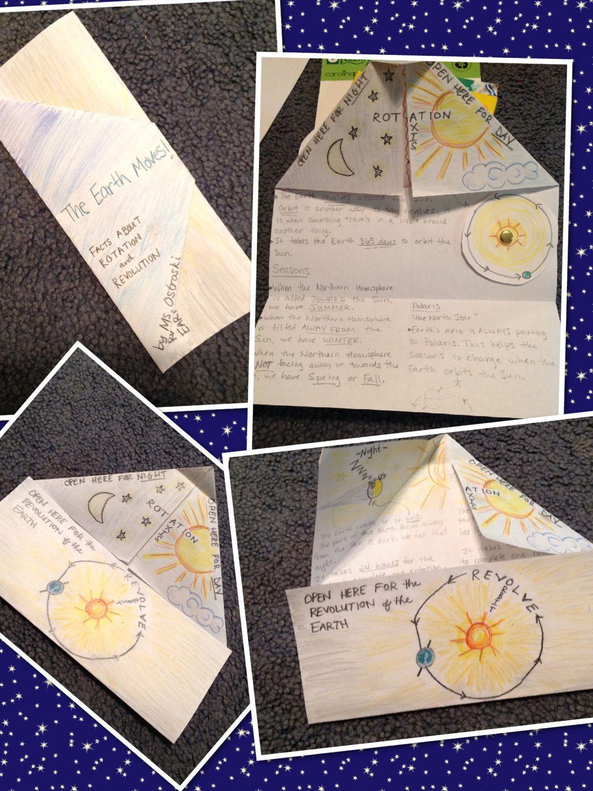 Earth Rotation Worksheet 4th Grade