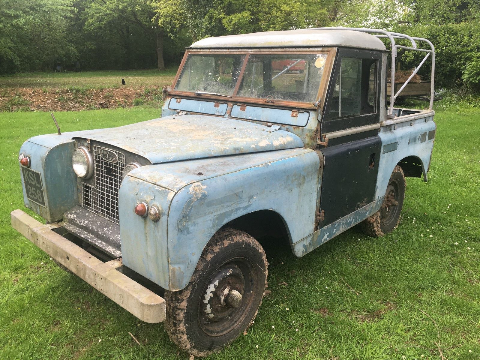 """Land Rover Series 2 II 1958 88"""" 2 0 Petrol Chassis no 643"""